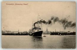 52941786 - Schiff Dampskib Dronning Maud - Paquebots