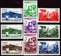 Comore-0002 - Emissione 1950-52 (+) LH - Senza Difetti Occulti. - Nuovi