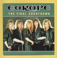 Disque Vinyle 45 Tours : EUROPE :  THE FINAL COUNTDOWN..Scan A : Voir 2 Scans - Collectors