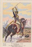 Uniformes Du 1er Empire Officier Du 6eme Régiment 1807  ( Tirage 400 Ex ) - Uniformen