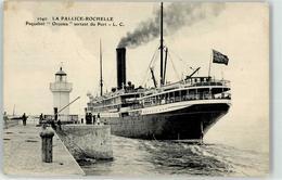52942466 - Schiff Paquebot Orcoma La Pallice-Rochelle Leuchtturm - Piroscafi