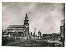 CPm 62 : HAISNES Lès LA BASSEE   Panorama Et église   A   VOIR  !!!! - Altri Comuni