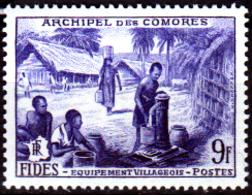 Comore-0004 - Emissione 1956 (++) MNH - Senza Difetti Occulti. - Nuovi