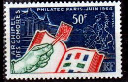 Comore-0005 - Emissione 1964 (++) MNH - Senza Difetti Occulti. - Nuovi