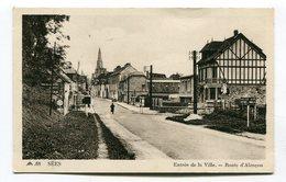 Cpa 61 : SEES  Route D'Alençon   A   VOIR  !!!!!!! - Sees