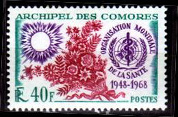 Comore-0006 - Emissione 1968 (++) MNH - Senza Difetti Occulti. - Nuovi