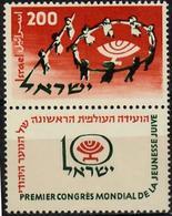 1958 Jewish Youth Conference Bale 154 / Sc 143 / Mi 166 TAB MNH/neuf/postfrisch [gra] - Ongebruikt (met Tabs)