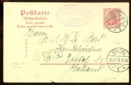 DEUTSCHES REICH * POSTKARTE Uit 1908 * GELOPEN Van ERFURT Naar BOXTEL  (11.559e) - Duitsland