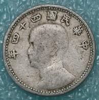 Taiwan 1 Jiao, 44 (1955) -1216 - Taiwán