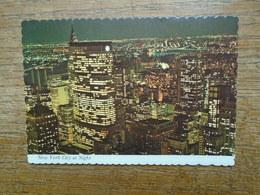 New York City At Night - Panoramic Views