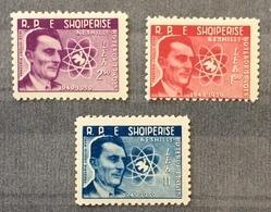 Albania 1959; Nobel Prize; Frederic Joliot-Curie; MNH** VF; CV 24 Euro!! - Prix Nobel