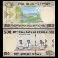 RWANDA 500  2019 UNC - Rwanda
