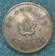 Taiwan 1 Dollar, 49 (1960) -1597 - Taiwán
