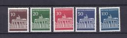 BRD - 1966/67 - Michel Nr. 506/510 - Postfrisch - 15 Euro - Ungebraucht