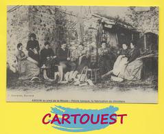 ASCAIN 64  ֎  ASCAIN Au Pied De La Rhune , Pelote Basque , La Fabrication Du Chichtera   Carte REPRODUCTION - France