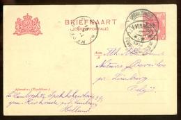 BRIEFKAART Uit 1914 * GELOPEN Van SPEKHOLZERHEIDE Naar BEVERLOO BELGIE  (11.559i) - Postwaardestukken