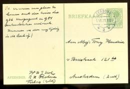 BRIEFKAART Uit 1931 * GELOPEN Van TERBORG Naar AMSTERDAM  (11.559h) - Postwaardestukken