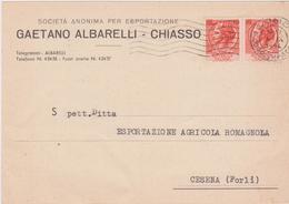 Cartolina Postale Intestata 1954 - 6. 1946-.. Repubblica