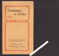 Santé / Commission Américaine Préservation De La Tuberculose En France, Plaquette 1913 - Santé