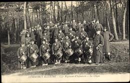 Cp Commercy Meuse, 155e Regiment D'Infanterie, La Clique - Autres Communes