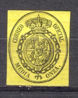 Spain 1855. Escudo, Ed 35 (*) - Neufs