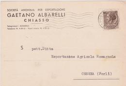 Cartolina Postale Intestata 1957 - 1946-60: Storia Postale