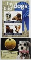 # Micronesia 2012**Mi.2318-22 Mongrel Dogs , MNH [15;77] - Dogs