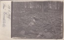 Ansichtskarte Von Toten Russischen Soldaten Bei Goroditsche - War 1914-18