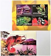 # Micronesia 2004**Mi.1496-1500  Reptiles , MNH [15;109] - Stamps