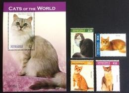 # Micronesia 2007**Mi.1835-39 Cats , MNH [15;106] - Domestic Cats