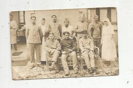 Cp , Carte Photo Ph. Lavaud,  COGNAC , Militaria , Militaires , Vierge, Infirmières - Personnages