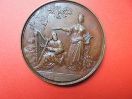 BRUXELLES-1846-FETES Par J+L.WIENER 85 Grammes-57 Mm (Petit Coup Sur Tranche) - Professionals / Firms