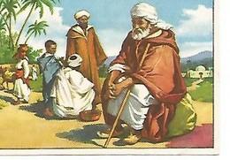 CROMO CHOCOLATES  BATANGA - Album No  1 A Traves De Africa. Serie VIII. Cromo No  9. El Egipcio Actual - Autres Collections