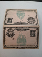 Republica Del Salvador // Double 3 Centavos Postal Stat. Card Mint - El Salvador