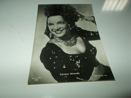 B726  Carmen Miranda Non Viaggiata - Attori