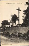 Cp Saint Maurice Loire, Croix De La Place - Autres Communes
