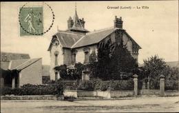 Cp Cravant Loiret, La Villa - France