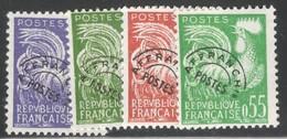 France Yvert Preo 119/22** TB Sans Charniére Cote EUR 45 (numéro Du Lot 534AG) - 1893-1947