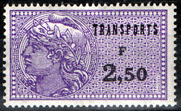 """France Fiscal - Transports TRn°19 (Y&T) Neuf * (charnière)-  1971/82 - Type """"Périgueux"""" - Fiscaux"""