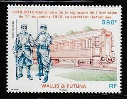 WALLIS Et FUTUNA - 2018 - Centenaire De La Signature De L'Armistice Du 11 Novembre 1918 - Ungebraucht