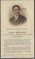 Photo Jean BOUVAIST Décédé à Abbeville En 1932 - Décès