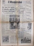 Journal L'Humanité (29 Déc 1971) Dirigeant ETEC - Gansters Cologne - Film Lucky Luke - L'Opéra Des Gros Sous - Newspapers