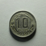 Russia 10 Kopeks 1939 - Russia