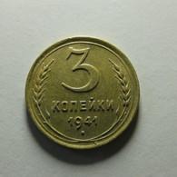 Russia 3 Kopeks 1941 - Russia