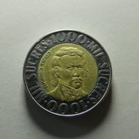 Ecuador 1000 Sucres 1996 - Ecuador