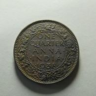 British India 1/4 Anna 1938 - India