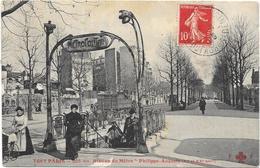 """TOUT PARIS: N°205 BIS - STATION DE METRO """"PHILIPPE-AUGUSTE"""" - EDITION F.FLEURY - France"""