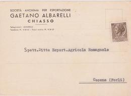 Cartolina Postale Intestata 1958 - 6. 1946-.. Repubblica