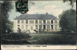 Cp Anizy Aisne, Le Château - Autres Communes
