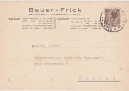Cartolina Postale Intestata 1956 - 6. 1946-.. Repubblica